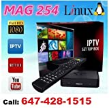 MAG 254 IPTV Full HD 3D Media Streamer STB - WiFi & HDMI