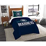 The Northwest Co mpany MLB Seattle Mariners Grandslam Twin 2-piece Comforter Set