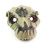 Latex Dinosaur Masks for Halloween Costume Party City,Jurassic World Dinosaur mask,Figures Simulation Tyrannosaurus Rex Mask, Halloween Dinosaur Mask