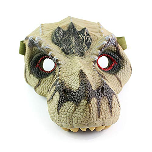 Latex Dinosaur Masks for Halloween Costume Party City,Jurassic World Dinosaur mask,Figures Simulation Tyrannosaurus Rex Mask, Halloween Dinosaur Mask by Mayzo