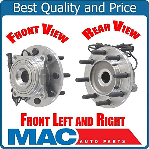 (2) 100% New Wheel Bearing Hub Assembly Fits for 09-11 Ram 2500 4 Wheel Drive - Hub Pr