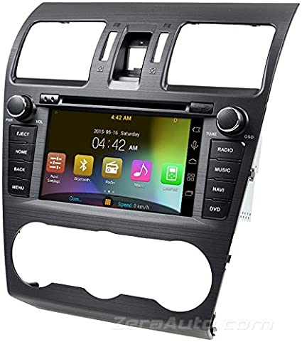 14 – 18 Subaru Forester in-dash GPS navegación estéreo DVD reproductor de CD Bluetooth