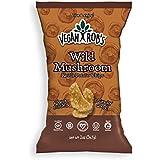 Vegan Rob's Gluten Free Kettle Potato Chips, Wild Mushroom, 2 Ounce, 24 Count