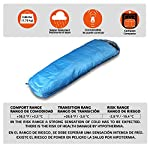 BOS Portable Mummy Sleeping Bag Ultralight Waterproof Camping Sleeping Bag With Compression Sack For 4 Season Traveling And Outdoor Activities Large Sleeping Bag For Adults Up 72