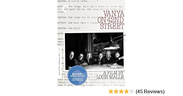 Amazon.com: Vanya on 42nd Street (Criterion Collection) [Blu ...