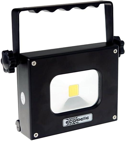 ECOBELLE® LED Mini Portátil Foco Proyector y Antorcha 10W + Panel ...
