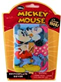 Vintage Disney Mickey and Minnie Mouse Switch Plate Cover
