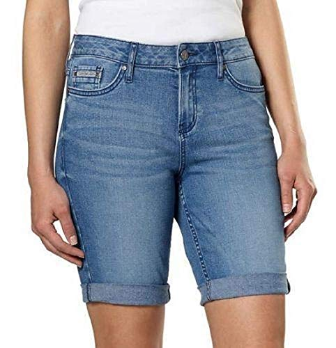 Calvin Klein Jeans Women's Denim City Short (Joel, 10)