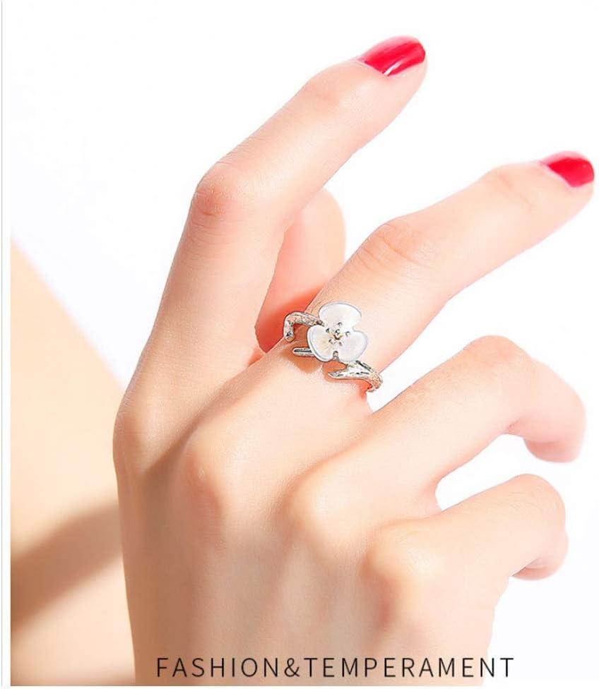 Ldh Female Bayflower Open Ring Female Fashion Forefinger Middle Finger Ring Wedding Finger Ring Amazon Co Uk Kitchen Home