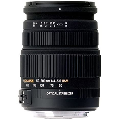 Review Sigma 50-200mm f/4.0-5.6 DC