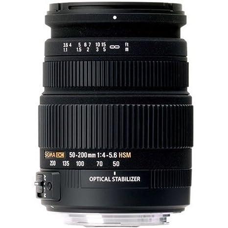 Sigma Objetivo  mm f DC OS HSM rosca para filtro de