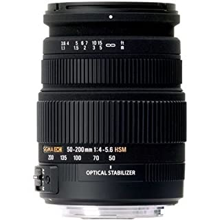 Sigma 50-200mm f/4.0-5.6 DC IF SLD Optical Stabilized (OS) Lens with Hyper Sonic Motor (HSM) for Canon Digital SLR Cameras (B002330GCY) | Amazon price tracker / tracking, Amazon price history charts, Amazon price watches, Amazon price drop alerts