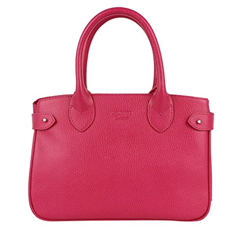 Mini PARIS - Cuir CVG - Fuchsia