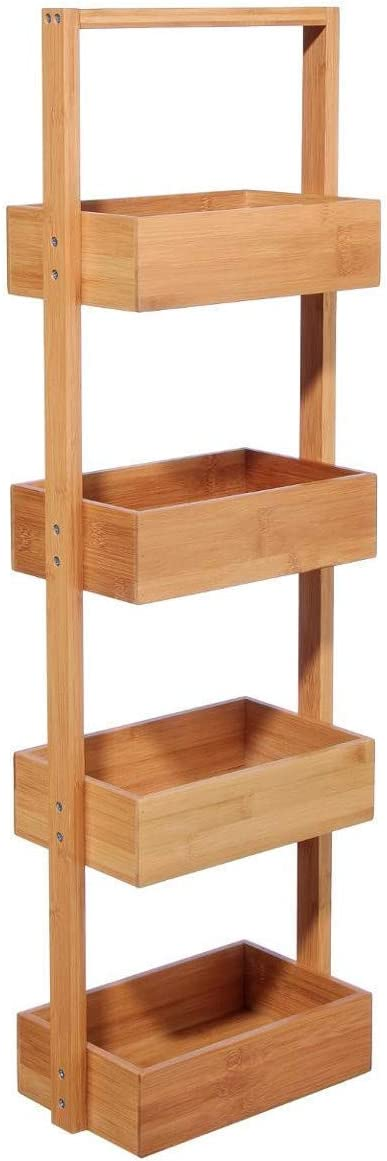 Bambou Mobile con 4 cestini in bamb/ù perfetto per il bagno