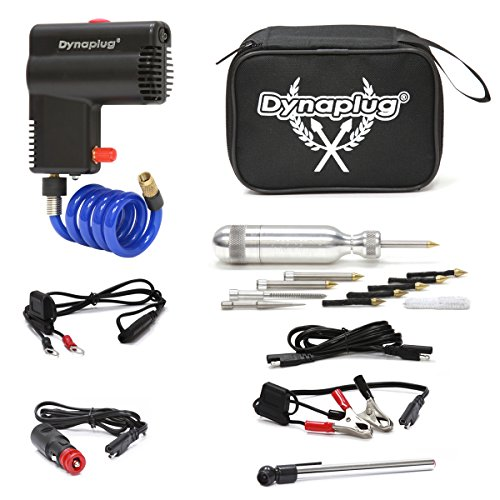 Dynaplug PRO Tire Repair Tool Combines with The Smallest 12 Volt Tire Inflator, to Create a Kit for Motorcycles