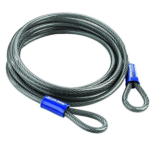 Flexible Steel Cable (Schlage 999263 Flexible Steel Cable, 15-Foot by .375-Inch)