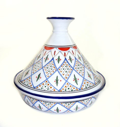 Le Souk Ceramique Serving Tagine, Tabarka Design