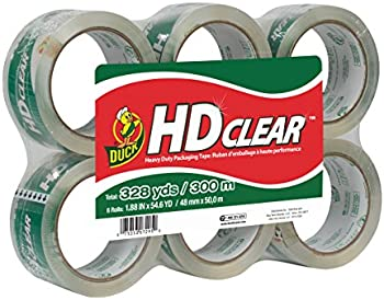 6-Pack Duck HD Clear Packaging 1.88