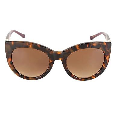 b9ffefcfb Óculos de Sol Forum Tartaruga Demi Feminino - Marrom - Único   Amazon.com.br  Amazon Moda