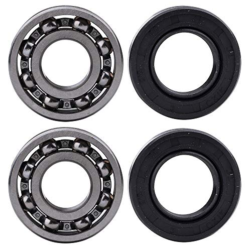 Clutch Side Crankshaft - 2 pcs Crankshaft Bearing (Clutch Side/Flywheel Side) with Oil Seal for Stihl 029 039 MS290 MS310 MS390 Chainsaw 9503 003 0440 Parts Kit