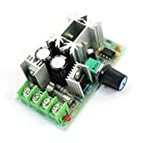 eDealMax a14052600ux0647 DC 10-60V 20 Amp, 1200W Rotary PWM Adjustable Motor Blower Motor Speed Controller