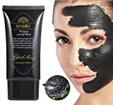 DISAAR Blackhead Activated Natural Charcoal Cleansing Mask, Wash-Off Nursing Face Masks Deep...