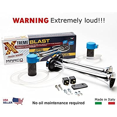 Marco Super Loud 148DB Extreme Blast Premium Air Horn Car Truck SUV: Automotive