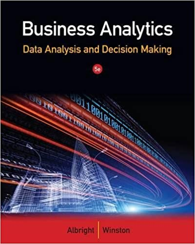 Business analytics data analysis decision making s christian business analytics data analysis decision making 5th edition fandeluxe Image collections