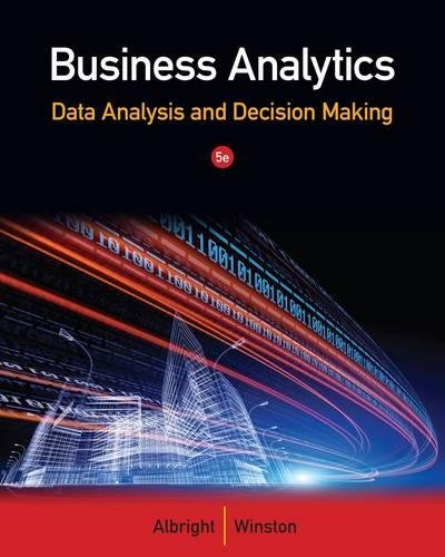 Business Analytics: Data Analysis & Decision Making