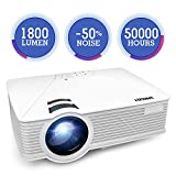 All-new Projector, SPACEKEY Mini Portable Projector, Multimedia Home Theater Video Projector Support 1080P - Best Reviews Guide