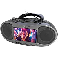 NAXA Electronics NDL-256 7 Bluetooth DVD Boombox