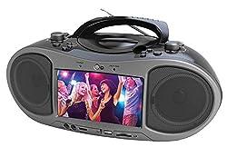 "Naxa Electronics Ndl-256 7"" Bluetooth Dvd Boombox"