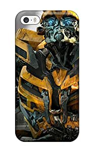 Special CaseyKBrown Skin Case Cover For Iphone 5/5s, Popular Bumblebee In Transformers 3 Phone Case