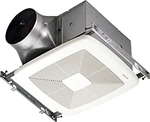 broan zb110 exhaust fan bathroom fan with 110 cfm maximum and 0 3 sones from the ultra