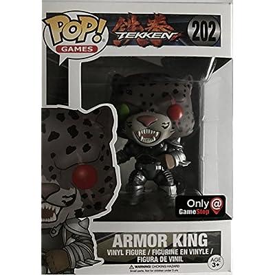 Funko POP! Armor King GameStop Exclusive #202 Tekken: Toys & Games