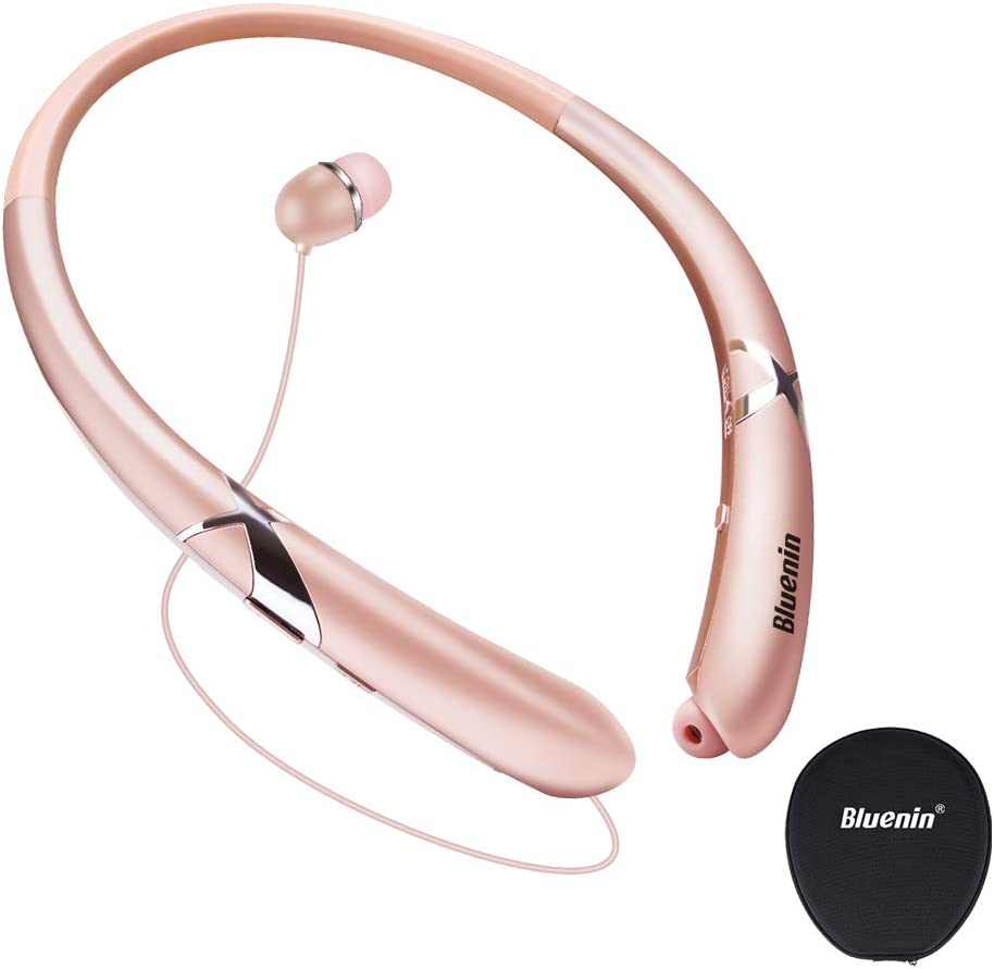 Bluenin  Neckband  Headphones for runnning and gym Look this beautiful neckband headphones this is the best for the running and also the best for the gaming