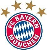 """FC Bayern München Wandtattoo """"Logo"""" ca. 32x30cm"""