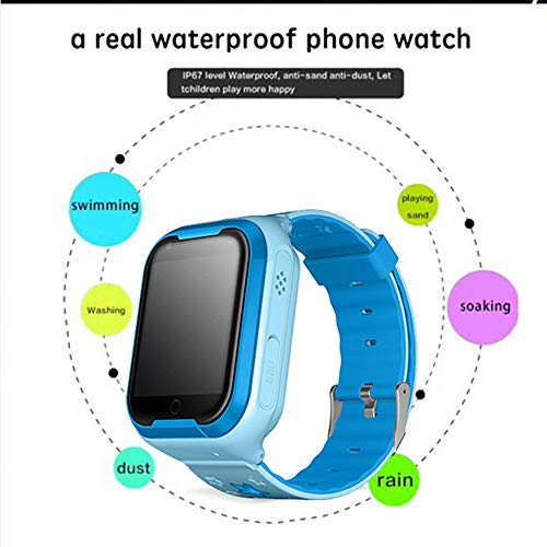 Amazon.com: LIU551 Smart Watch Kids Support SIM 4G Network GPS ...