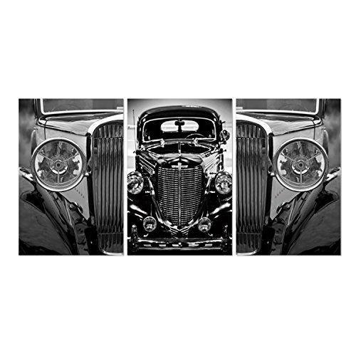 FURINNO Senia 3-Panel MDF Framed Photography Triptych Print, 42