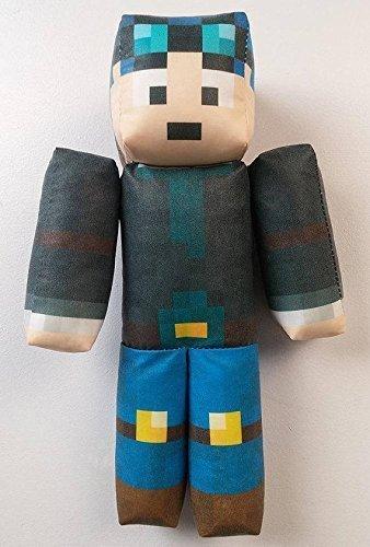 dcdf3d1a2b2c Amazon.com  TheDiamondMinecart Minecraft DanTDM Plush Toy  Handmade