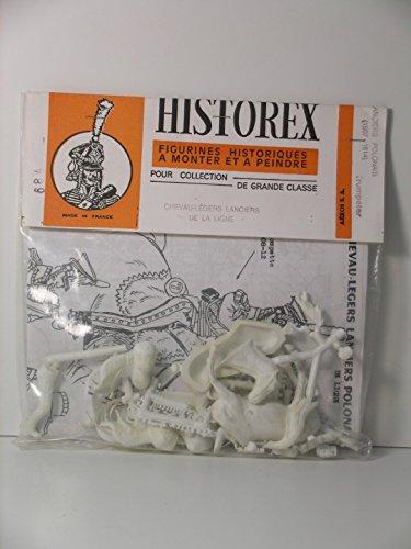 Historex Miniatures---54mm Scale French Napoleonic Mounted Polish Line Lancer Trumpeter 1807-1814 ----Plastic Model Kit