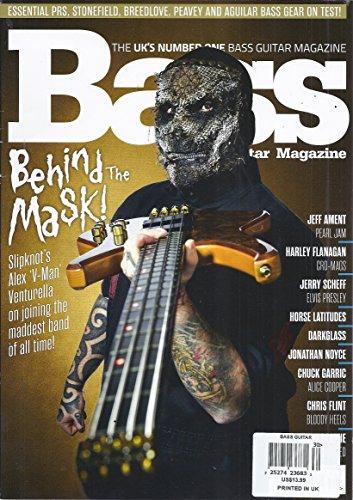 Guitar Magazine Covers - Bass Guitar Magazine (May 2016 - Cover: Slipknot's Alex 'V-Man' Venturella)