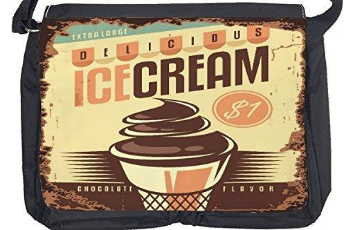 Borsa Tracolla Nostalgico Divertimento gelato Stampato