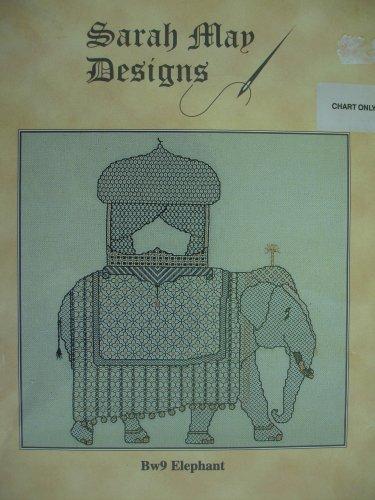 """""""Elephant"""" - Blackwork - Chart"""