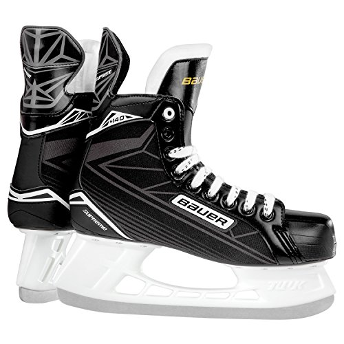 Bauer SUPREME S 140 Youth BTH16 Hockey Skate, Black, Size 6 - Bauer Hockey Skates Size 6