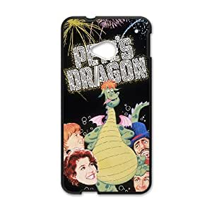 HTC One M7 Cell Phone Case Covers Black Pete's Dragon O6663473