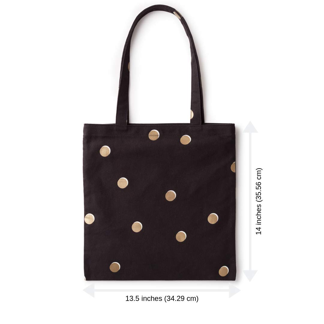 d471301d56e3 Amazon.com  kate spade new york Canvas Book Tote - Scatter Dot  Shoes
