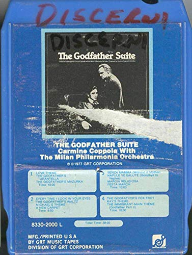 Milan Philharmonic Orchestra: The Godfather Suite 8 Track Tape