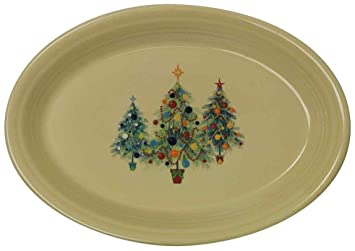 Fiesta 13-5/8-Inch Oval Platter Christmas Tree  sc 1 st  Amazon.com & Amazon.com | Fiesta 13-5/8-Inch Oval Platter Christmas Tree ...