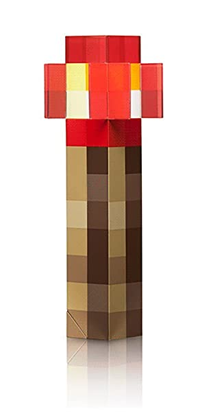 Amazon thinkgeek minecraft redstone light up wall torch toy thinkgeek minecraft redstone light up wall torch toy looks like it came straight out audiocablefo